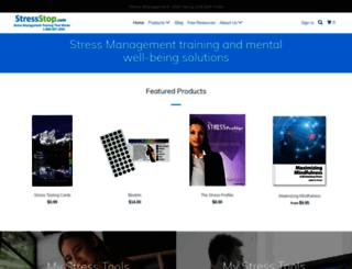stressstop.com screenshot