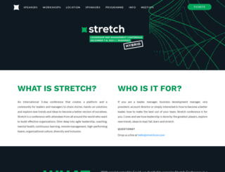 stretchcon.com screenshot