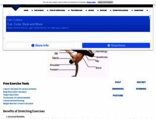 stretching-exercises-guide.com screenshot