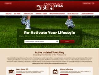 stretchingusa.com screenshot