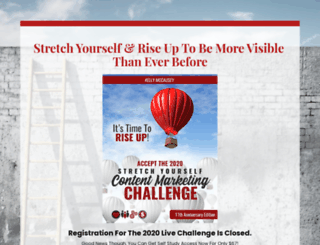 stretchyourselfchallenge.com screenshot