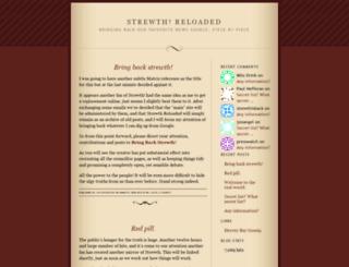strewthreloaded.wordpress.com screenshot