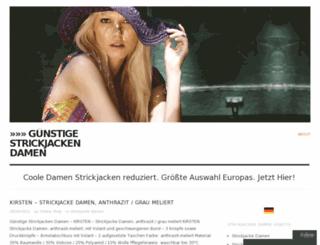 strickjackedamenn.wordpress.com screenshot