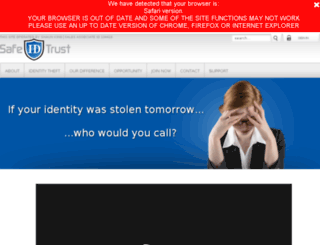 stricklybiz.safeidtrust.biz screenshot