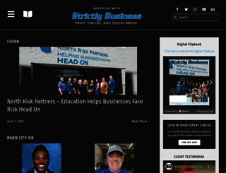 strictlybusinessomaha.com screenshot