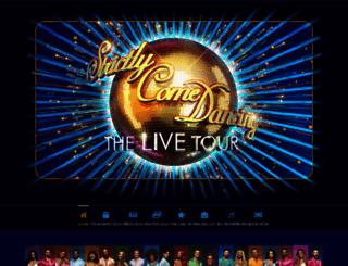 strictlycomedancinglive.com screenshot