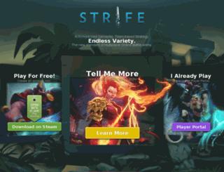strife.com screenshot
