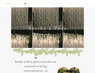 strikeapose.info screenshot