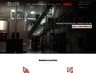 stringenieros.com screenshot