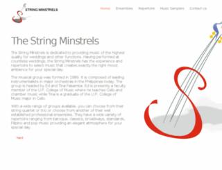 stringminstrels.com screenshot