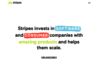 stripesgroup.com screenshot