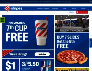 stripesstores.com screenshot