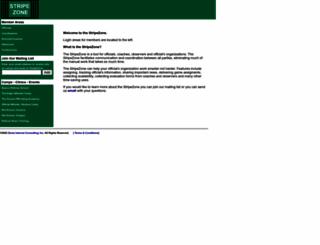 stripezone.com screenshot