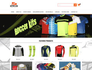 strivesports.com screenshot