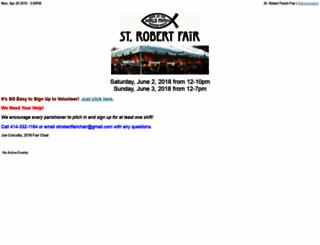 strobertfair.ivolunteer.com screenshot
