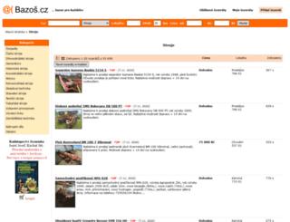 stroje.bazos.cz screenshot