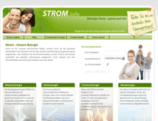 strom.info screenshot