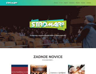 stromar.si screenshot