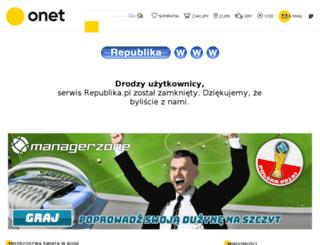 stronafizyki.republika.pl screenshot