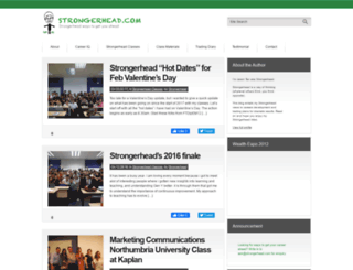 strongerhead.com screenshot