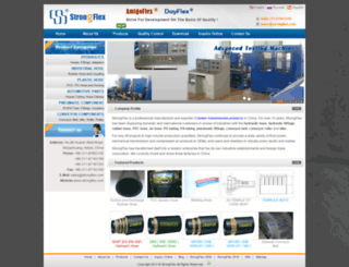 strongflex.com screenshot