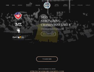 strongmancl.com screenshot