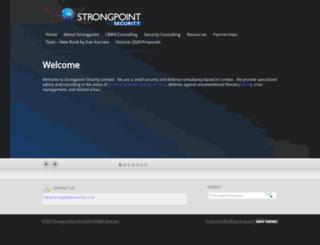 strongpointsecurity.co.uk screenshot