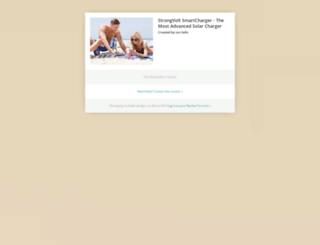 strongvolt.backerkit.com screenshot