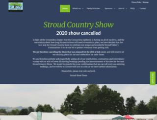 stroudshow.co.uk screenshot