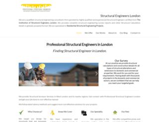 structuralengineersinlondon.co.uk screenshot