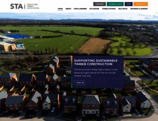 structuraltimber.co.uk screenshot