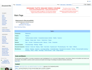 structuralwiki.org screenshot