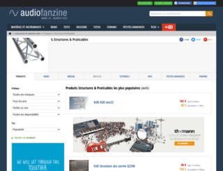 structure-light.audiofanzine.com screenshot
