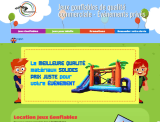 structure.mondegonflable.com screenshot