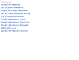 structuredsettlementindustry.com screenshot