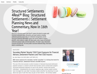 structuredsettlements.typepad.com screenshot