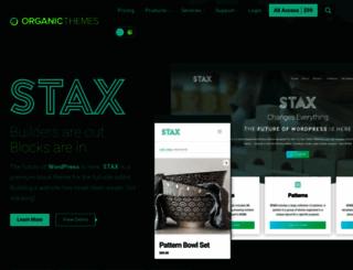 structuretheme.com screenshot