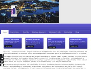 structuringbusiness.com.au screenshot