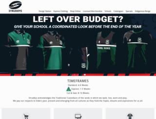 struddys.com.au screenshot