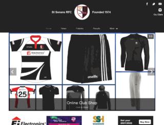 stsenansrugby.com screenshot
