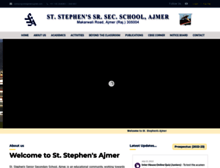 ststephensajmer.com screenshot