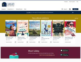 sttammanyla.libraryreserve.com screenshot