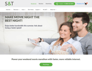 sttelcom.com screenshot