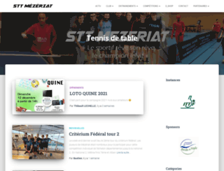 sttmezeriat.fr screenshot