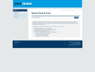 sttrackandtrace.startrack.com.au screenshot