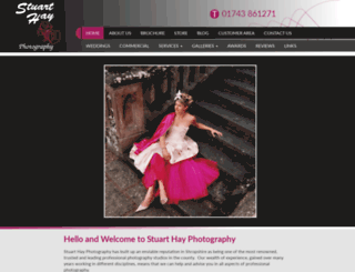 stuarthayphotography.co.uk screenshot