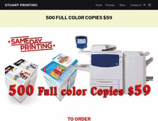 stuartprinting.com screenshot