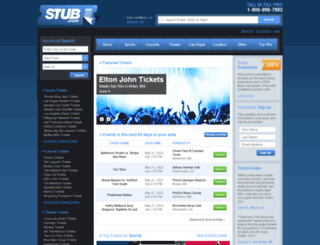 stub.com screenshot