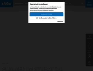 stubai.at screenshot