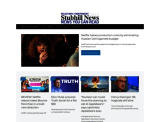 stubhillnews.com screenshot